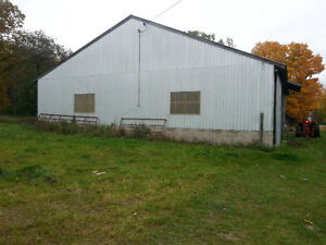 Machine Shed for Rent