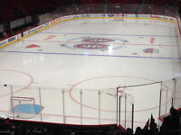 Excellent ticket Habs Montreal Canadiens Red 118T