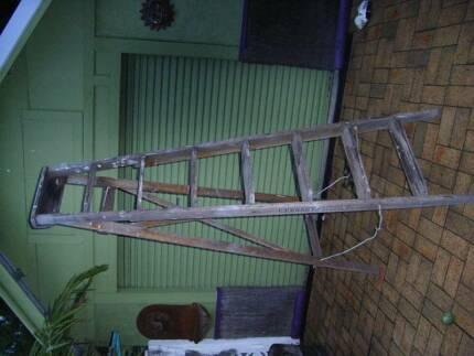 Timber ladder Lidcombe Auburn Area Preview