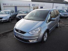FORD GALAXY 2.0TDCI DIESEL 140BHP MANUAL 7SEATER MPV ZETEC 07reg TIDY CAR