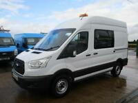 16 reg FORD TRANSIT T350 RWD 125 bhp CREW MESS, MESSING UNIT, WELFARE TOILET VAN