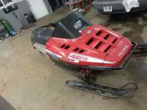 Sled or quad for 4x4 vehicle