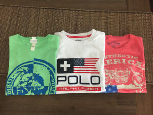 Set of 3 T-Shirts, (RL, Diesel, Best T Ever), Size: 10 Y