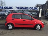 2006 AUTOMATIC HYUNDAI GETZ 1.4 LOW MILES!!! £1995