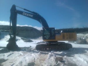 2013 John Deere 350G Excavator with Low Hrs and Great Condition