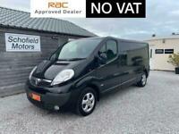 2013 Vauxhall Vivaro 2.0 CDTi Sportive 2900 Crewcab 5dr (LWB, EU5) Combi Van Die