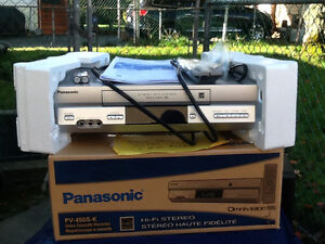 New never used VCR