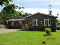 Nice Huge 4 bedroom ENERGY EFFICIENT bungalow on 2 acres