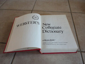 Webster's Collegiate English Dictionary London Ontario image 3