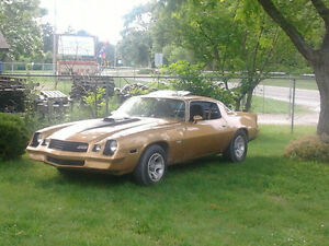 1980 Camaro  trade for dump trailer 14 to 16 foot or mustang