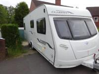 2010 4 berth end washroom Lunar Clubman SE caravan for sale