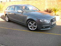 Audi A4 Ultra Estate 2.0TDI Manual Grey 161BHP