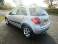 2012 SUZUKI SX4 1.6 SZ4 5DR ONLY 63,000 MILES MOT JULY 21 ONLY 2 OWNERS SCENIC