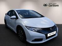 Honda Civic I-DTEC EX (white) 2013-03-28