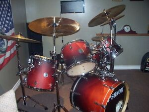 sonor drum kit