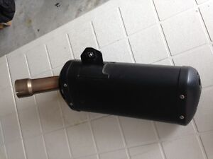 Stock muffler for 2011 Yamaha FZ8