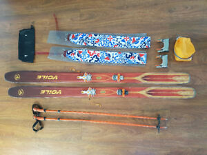 Voile Ski Touring Gear with G3 AT Bindings