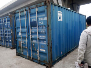 Used Steel Storage Containers