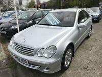 55 REG Mercedes-Benz C200 2.1TD auto Elegance SE
