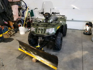 Arctic Cat with only 266 km near new condition