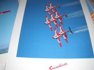 "Military ""Snowbirds"" and Skyhawk posters Moose Jaw Regina Area image 2"