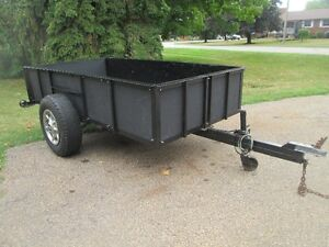 4.5 feet by 8.5 feet Utility Trailer For Sale