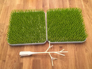 "Boon Drying Grass (X2) and bottle ""tree"""