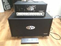 EVH 5150 III 50watt head with EVH 5150 III 2x12 cab  $1500