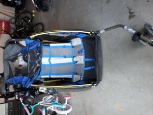 doble stroller for bike or trail