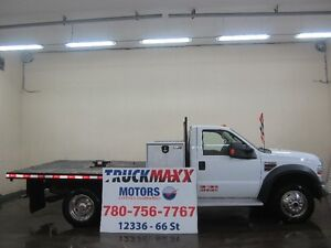 2009 Ford F-550 XLT Regular Cab 4x4 Flat Deck