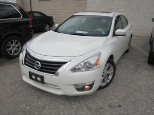 2014 Nissan Altima 2.5 SL PUSH TO START! TAN LEATHER! HEATED...
