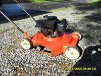 Gas Lawn mower - old broken or not running for parts