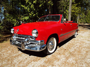 1951 Ford, Convertible, Original Rust Free One Of The Best.