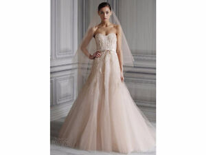 Monique Lhuillier - Candy (Blush Pink Wedding Gown)