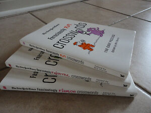 Set of 3 The New York Times Crosswords books Brand new