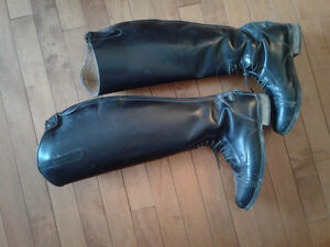 Auken tall riding field boot