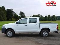 14 TOYOTA HILUX HL2 D-4D 4X4 DOUBLE CAB PICK UP TRUCK DIESEL MANUAL DIESEL MANUA