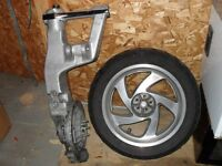 rim & tire + drive shaft & swing arm for 2003 goldwing