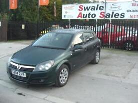 2004 04 VAUXHALL ASTRA 1.7 CLUB CDTI 5 DOOR DIESEL EXCELLENT CONDITION FOR ITS Y