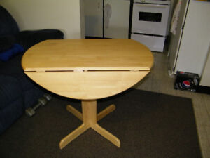 WOODEN OLD DOWN LEAF TABLE
