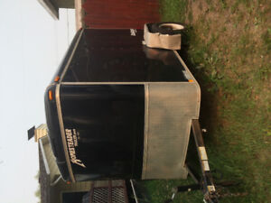 Enclosed 5x8 trailer for sale