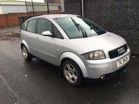 Audi a2 1.4 tdi 2001 £795 bargain