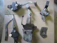 4 speed shifters and handles hurst mr gasket muncie saginaw t10