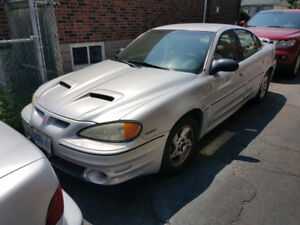 2003 Pontiac Grand AM GT, Leather interior, 2 sets of rims incl