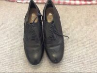 Real leather brogues size 7