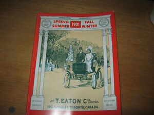 very old 1901 T.EATON CO