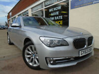 BMW 730 3.0TD ( 258bhp ) ( s/s ) Auto 2013 d SE Sat Nav Leather P/X Swap