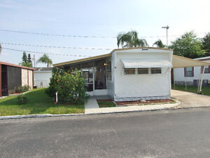 mobile home for sale in clearwater, florida, usa