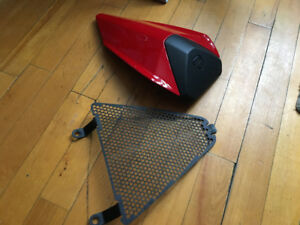 1199 panigale radiator guard and back panel