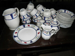 Discontinued  Adams Lancaster English Ironstone Bone China
